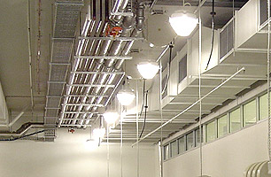 pit lighting and ventilation