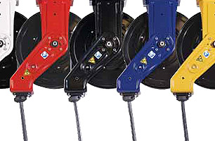 Graco hose reel range colour options