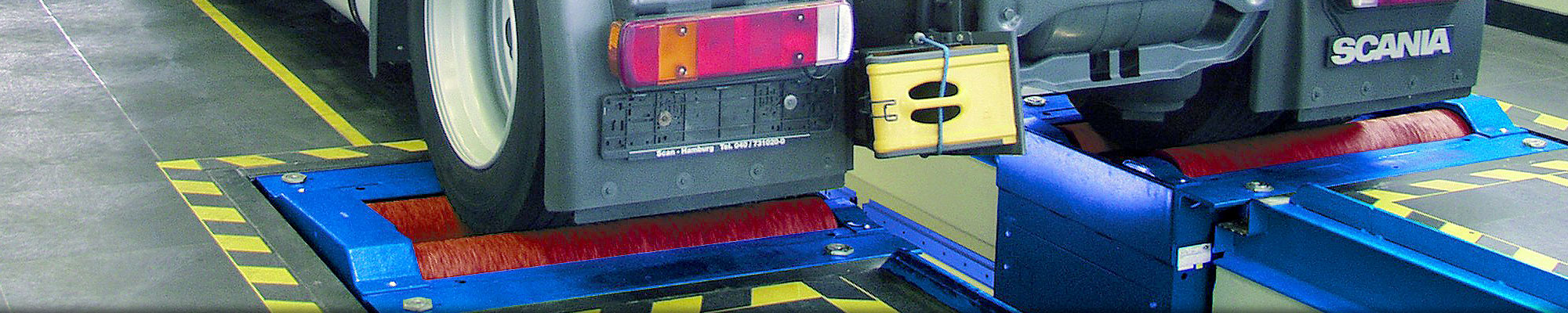 roller brake testers for trucks and buses