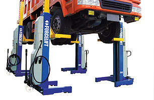 Mobile Column Hoist