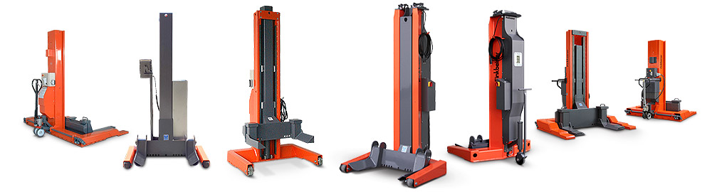 truck and bus column hoists and lifts