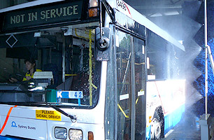 Drive Thru Bus Wash 4PL